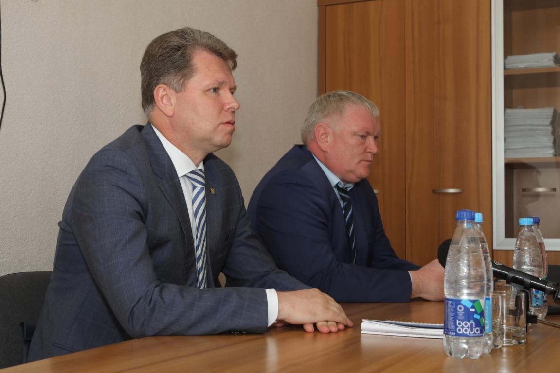 Александр Студнев встретился с коллективом ОАО «Бобруйский мясокомбинат»